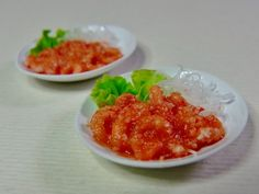 Chinese meal - Shrimp in chili sauce