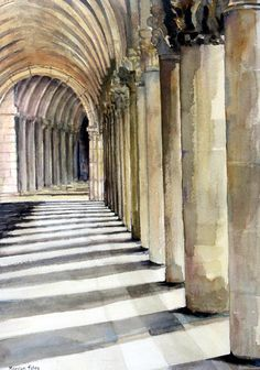 Arcade, St. Mark's Square by Marilyn Foley
