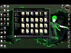Green Bleach Windows 7 Theme