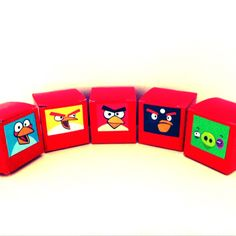 Angry Birds - party snacks