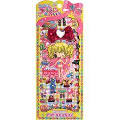 Q-lia Dressup Stickers: Pop\'n Candy