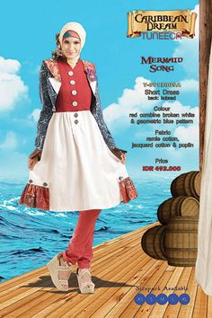 Carribbean Dream - Mermaid Song - #Chic Short #Dress