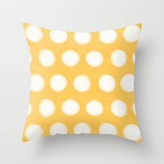 画像1: painted polka dots- yellow  by her art (1)