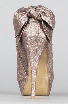 *Sole Boutique  The Zoe Shoe in Multi Glitter $33.00