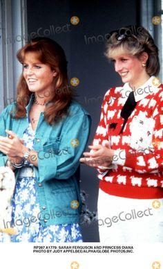 A1779: Sarah Ferguson and Princess Diana Photo by Judy Appelbee/alpha/Globe Photos,inc.