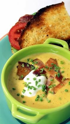 Beer, Bacon and Cheese Soup
