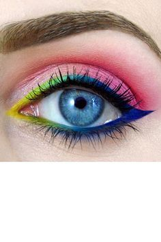 Colorful Eye Art by Tal Peleg