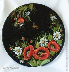 Декор предметов Роспись: Мои новые работы. Роспись двойной мазок. Дерево, Краска. Фото 1