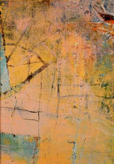 Anthony Sorce - TONE POEM SERIES: LANDING 2007 acrylic, dry pigment, gel on paperboard 7.25 x 5.125 inches