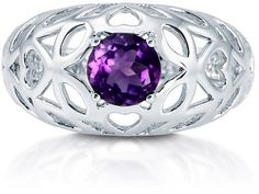 #Berricle                 #ring                     #Natural #Amethyst #Gemstone #Sterling #Silver #Filigree #Ring #0.84 ##r662   Natural Amethyst Gemstone 925 Sterling Silver Filigree Ring 0.84 Ct #r662                               http://www.seapai.com/product.aspx?PID=1263498
