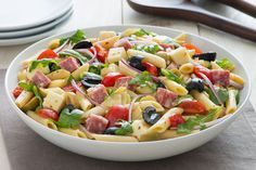 Salade de pâtes d'antipasti