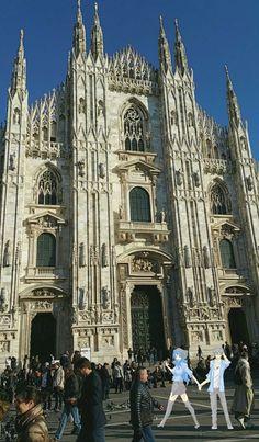 Walking to Milano ❤