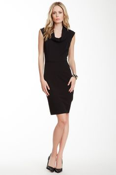 Tahari | Cowl Neck Sleeveless Sheath Dress | Nordstrom Rack