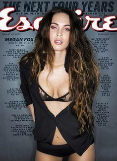 Megan Fox for Esquire US 2013