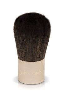 Jane Iredale Kabuki Brush, 0.1 oz by Jane Iredale. $30.95. Our brushes have been designed to be as effective and as gentle on the skin as possible. This ultra-soft brush is ideal for applying both our Amazing Base and PurePressed Base. Made of hand-tied goat hair. A gentle round brush that works incredibly well with our mineral foundations. Use with Amazing Base; it provides just the right coverage.