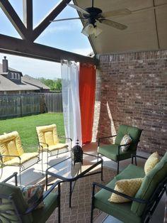 Outdoor patio curtains - loveeee