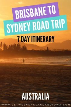 Brisbane to Sydney Road Trip: 7 Day Driving Itinerary – Where we stayed, things to do and places to visit between Sydney and Brisbane on an East Coast Australia road trip! Australia Funny, Australia Tours, Australia Travel Guide, Australia Beach, Coast Australia, Western Australia, Victoria Australia, Queensland Australia, Sydney Australia