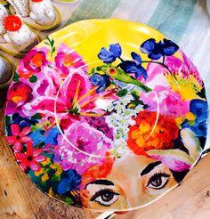 Melamine Plate Anthropology By Ashley Longshore