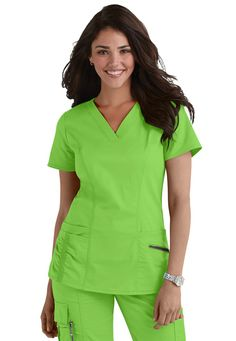 Lightweight,wrinkle resistant Tencel performance stretch fabric that is super comfy and moves with you! | Scrubs and Beyond #exclusivelySB