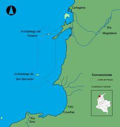 Playas de Colombia, Islas de San Bernardo, Playas Mas Lindas