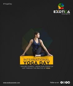 Leading manufacturers of Digital wall TIles in morbi in India Happy International Yoga Day, Hd Design, Festival Flyer, Digital Wall, Yoga Everyday, Wall Tiles, Yoga Fitness, Knowing You, Interior Decorating