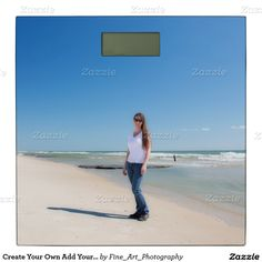 Create Your Own Add Your Best Or Goal Photo Bathroom Scale Add your special photographs or text to personalize this scale. Design and make your own unique gift for yourself or someone special. Great for holiday, wedding, anniversary, baby, graduation, engagement, vacation or any keepsake or fun photo you want! Works best with square photos or graphics.