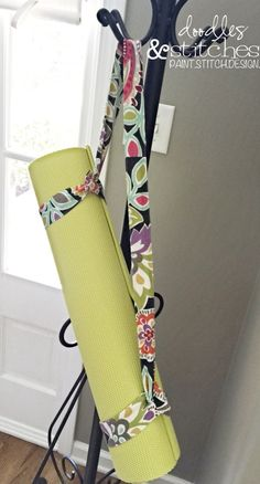 Yoga Mat Strap - DIY Tutorial - Doodles & Stitches