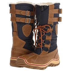 c1ff10e599412 Pajar CANADA Adriana (Cognac Navy) Women s Boots ( 160) ❤ liked on