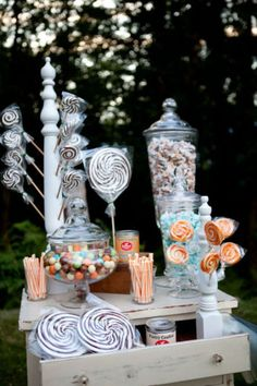 candy table, candy bar, mesa de dulces