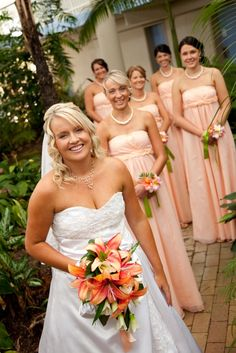 Brides maid dresses!