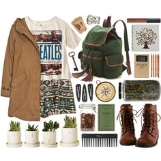 Beatles!!!! by hanaglatison on Polyvore featuring Woolrich, Juicy Couture, NARS Cosmetics, Sephora Collection and Jayson Home