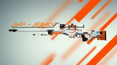 Wallpaper Desktop Backgrounds - awp asiimov cs:go counter strike global offensive skin - Futuristic Architecture Cs Go Wallpapers, Gaming Wallpapers, Steam Avatar, Sci Fi Games, Wallpaper Hp, Go Logo, Great Backgrounds, Game, Frames