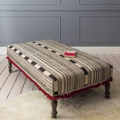 Klein Ottoman - View All Upholstery - Shop By Item - Sofas & Upholstery Ottoman, My Home Design, Furniture, Sofa Upholstery, Soft Furniture, Ottoman Sofa, Large Ottoman, Upholstery, Sofa Seats