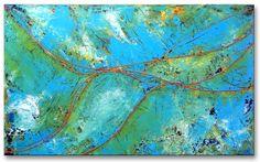Title: Nr.59 .  Size: 23.6''X39.4'' , (60X100cm) .  Medium: acrylic on canvas .  Year: 2009 .  © art of Ioannis Tsaousidis