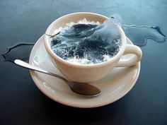 Post with 2 votes and 7946 views. Cup of sea, Photoshop, * Photomontage, Creative Photography, Art Photography, Surrealism Photography, Illusion Photography, Splash Photography, Conceptual Photography, Photography Magazine, Editorial Photography