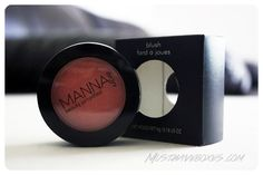 March 2013 Wantable Makeup Box - Manna Kadar Blush in High Five. Now that winter is officially over, it's time to bring a healthy-looking glow back to your cheeks. Price: USD $19.00 (full size: 6g) -- #beauty #wantable.co #makeup #subscriptionbox #blush #mannakadar #makeup