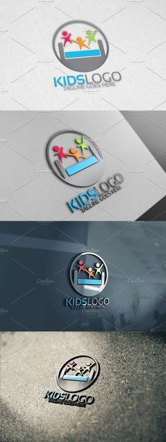 Custom Logo Design, Custom Logos, Club Design, Kids Logo, Background Images, Layout, Color, Picture Backdrops, Page Layout