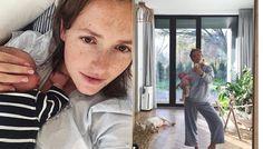 Olga Frycz niedawno urodziła dziecko i od tego czasu dość intensywnie działa na portalach społecznościowych, gdzie pokazuje swoje życie po porodzie. Aktorka czuje na sobie medialną presję, przeciw której się stanowczo buntuje. Postanowiła wyznać swoim fanom, jak naprawdę wygląda jej sylwetka tuż po rozwiązaniu. Coat, Instagram, Fashion, Moda, Sewing Coat, Fashion Styles, Peacoats, Fashion Illustrations, Coats
