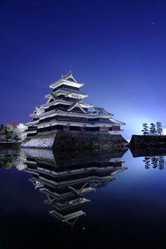 Japan Graphic Vector - - Japan Fashion Formal - Japan Background Black - Old Japan Night - Beautiful World, Beautiful Places, Beautiful Pictures, Japan Landscape, Japanese Castle, Kyoto Japan, Nagano Japan, Visit Japan, Photos Voyages