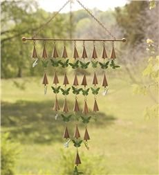 Butterfly Bells Iron Wind Chime