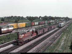 RailPictures.Net Photo: BN 6032 Burlington Northern Railroad EMD SD7 at Eola, Illinois by Marty Bernard