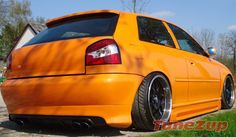 Car for Sale: Price cut on this #Modified #Orange #Audi #A3  http://tunezup.com/car-tuning/car/6740-audi
