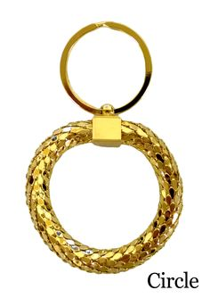 Intricate Gold Plated Scale Designed Keychain by BestGift247, $8.99