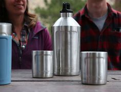 Colorado-based OtterBox makes durable goods. So it stands to reason they'd try their hand at designing some Yeti-esque drinkware. And with their Elevation 64 Growler, they nailed it. The rugged, vacuum-sealed bottle is constructed of copper-lined stainless steel and holds 64 ounces of your favorite libation, enough to share if you have to.