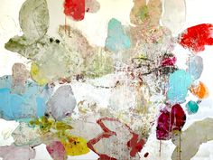 "Siren Song:  72"" x 96"" ink, oil, & graphite on canvas, 2013"