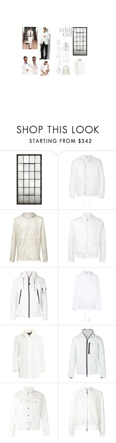 White Things by xam3r on Polyvore featuring Over All MasterCloth (OAMC), Misbehave, Factotum, Herno, Marna Ro, Diesel Black Gold, Save the Duck, Canada Goose, C.P. Company and men's fashion