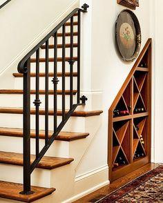 cave vin sous l 39 escalier escaliers pinterest plus d 39 id es cave vin et escaliers. Black Bedroom Furniture Sets. Home Design Ideas