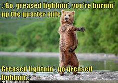 greased lightnin