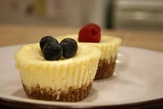 Mini Gluten-Free Cheesecakes