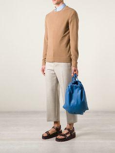 Henten 'snipe' Drawstring Bag - Le Marché Aux Puces - Farfetch.com #purses #bags #fashion